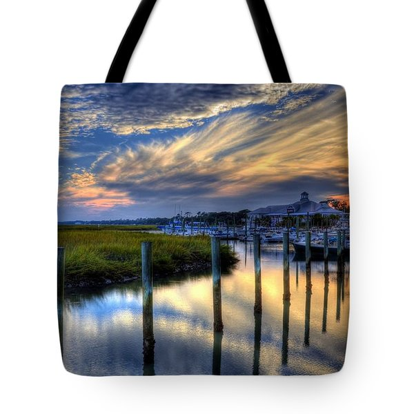 Murrells Inlet Sunset 1 Tote Bag