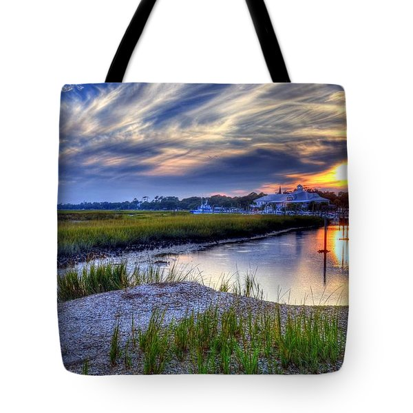 Murrells Inlet Sunset 4 Tote Bag