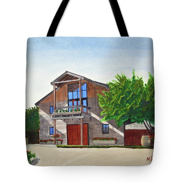 Murrietas Well Winery Tote Bag by Mike Robles