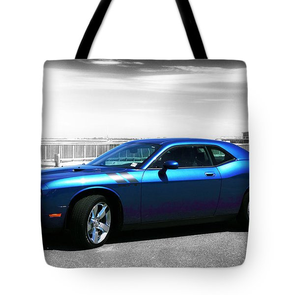 Muscle Car Fusion Tote Bag
