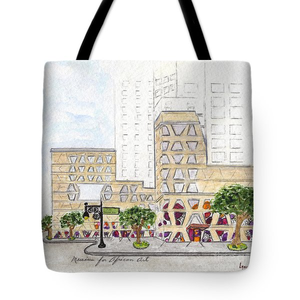 The Africa Center Tote Bag