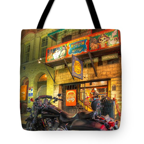 Museum Of The Weird Tote Bag by Tim Stanley