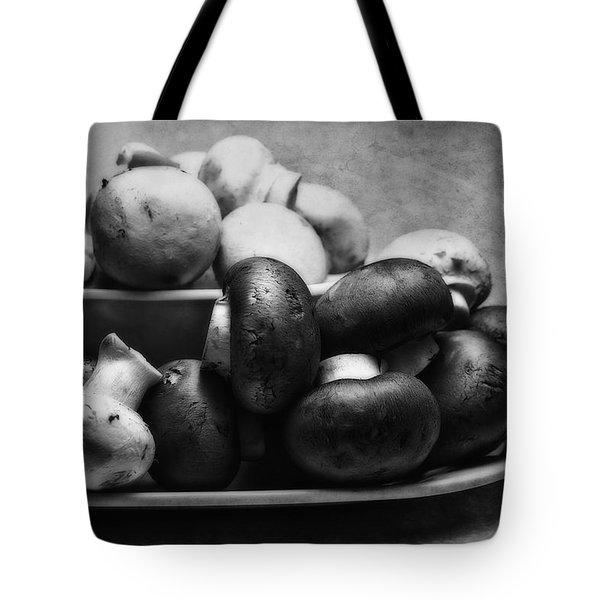 Mushroom Still Life Tote Bag by Tom Mc Nemar