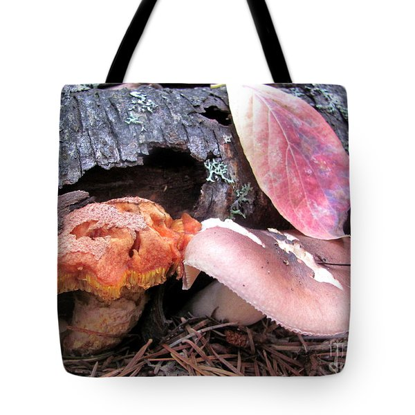 Mushrooms Tote Bag by Irina Hays