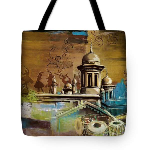 Music And Culture Tote Bag by Catf