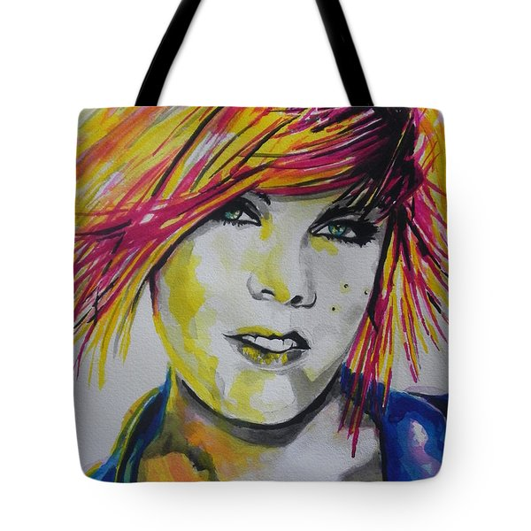Music Artist..pink Tote Bag by Chrisann Ellis