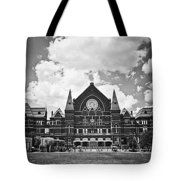 Music Hall 2 Tote Bag
