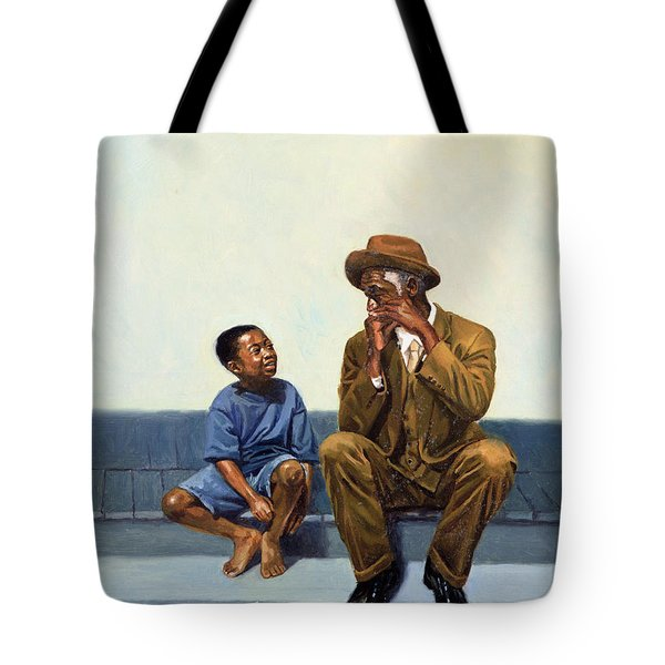 Music Lesson Number 2 Tote Bag