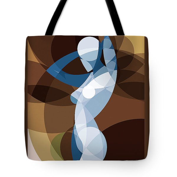 Music Of The Spheres #9 Tote Bag by Peyablo