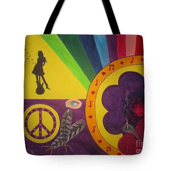 Music Remains Tote Bag
