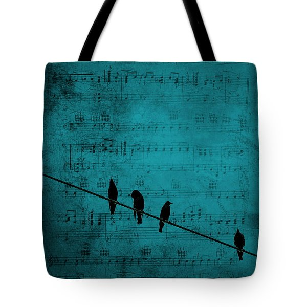 Music Soothes The Soul Tote Bag by Andrea Kollo