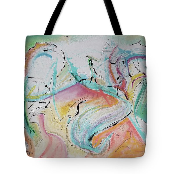 Music Spirits At Play In Brazil Tote Bag