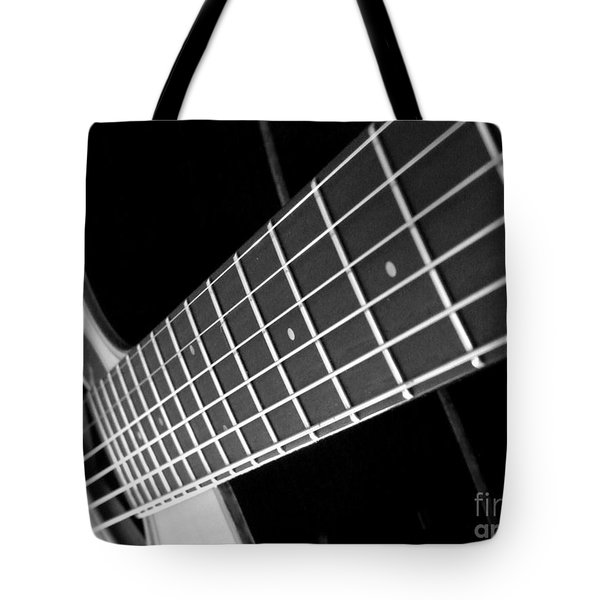 Tote Bag featuring the photograph Music To My Soul by Andrea Anderegg
