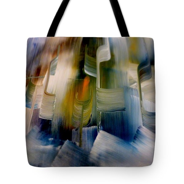 Music With Paint Tote Bag