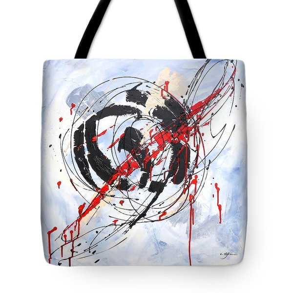 Musical Abstract 002 Tote Bag