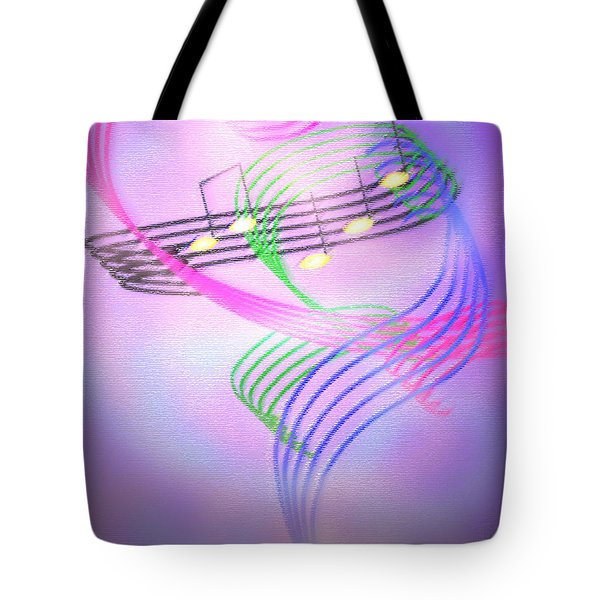 Musical Alchemy Tote Bag
