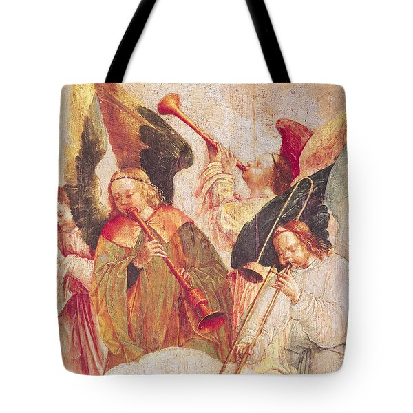 Musical Angels, Detail From The Assumption Of The Virgin Tote Bag