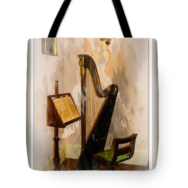 Musical Corner Tote Bag by Marcia Lee Jones
