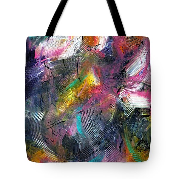 Musical Flow Tote Bag