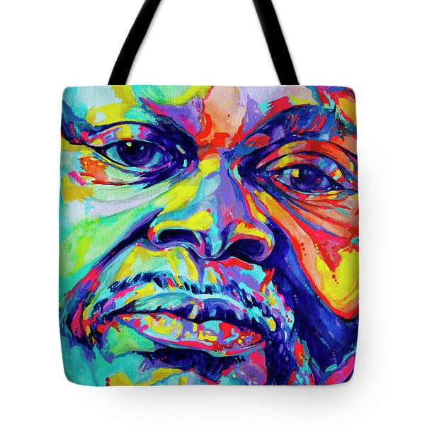 Musical Genuis Tote Bag by Derrick Higgins
