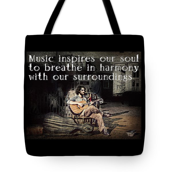 Musical Inspiration Tote Bag by Melanie Lankford Photography