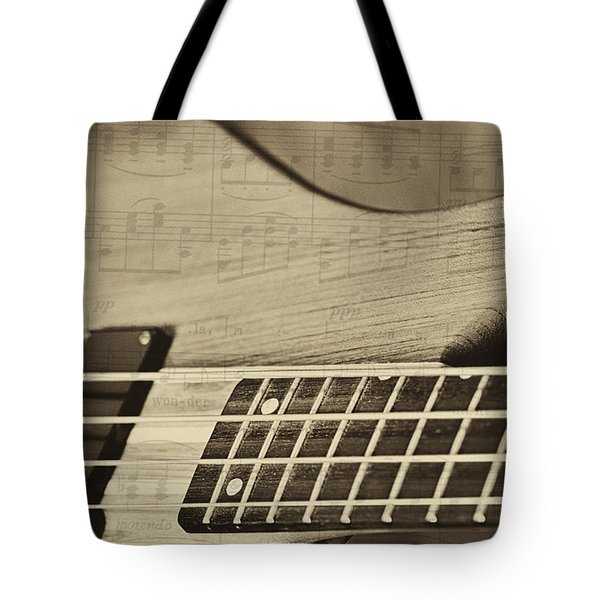 Musical Majesty Tote Bag by Erika Weber