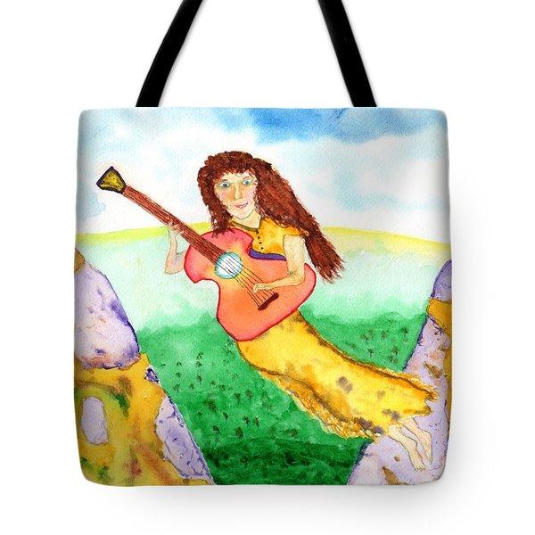 Musical Spirit 11 Tote Bag