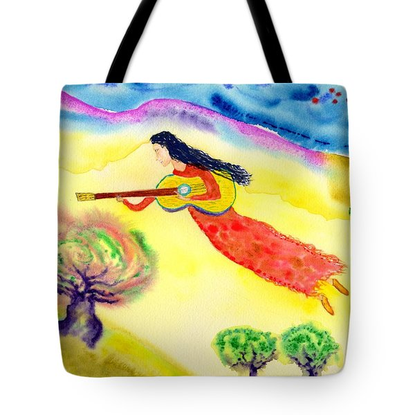 Musical Spirit 12 Tote Bag