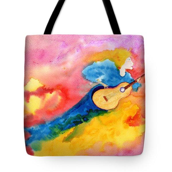 Musical Spirit 19 Tote Bag