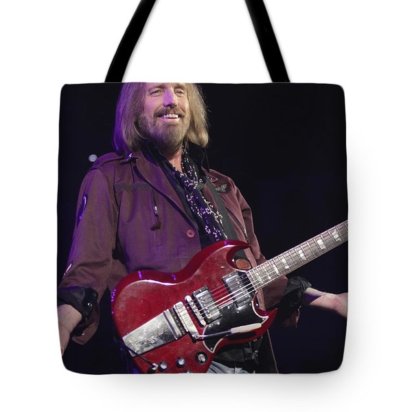Musician Tom Petty  Tote Bag