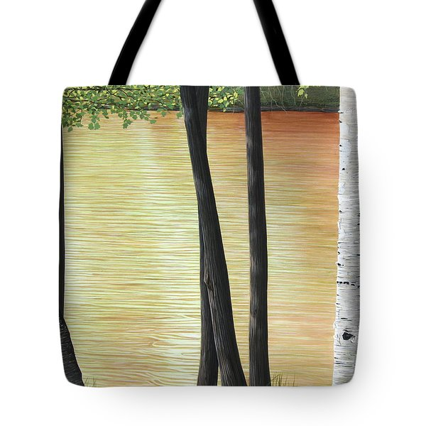 Muskoka Lagoon Tote Bag by Kenneth M  Kirsch