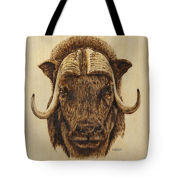 Muskox Tote Bag by Ron Haist