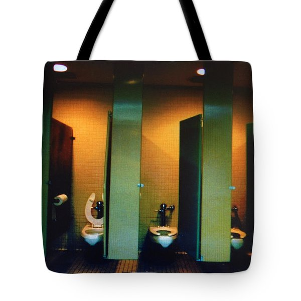 Must Be The Mens Room Tote Bag