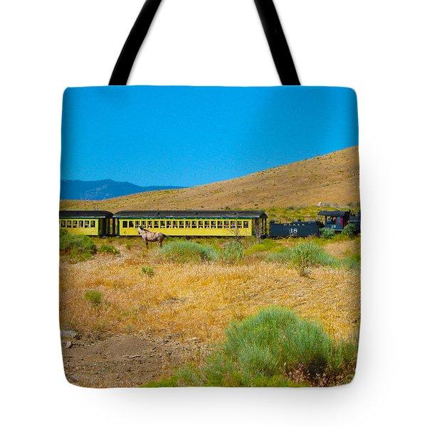Mustang Days Tote Bag by Mayhem Mediums