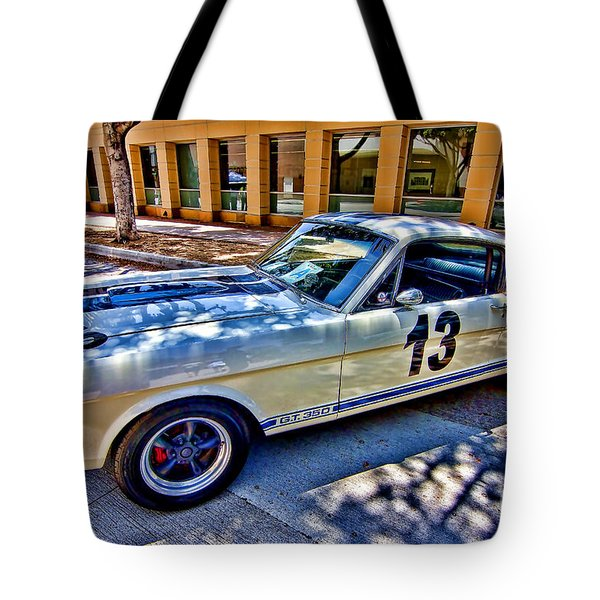 Tote Bag featuring the photograph Mustang Gt 350 by Jason Abando