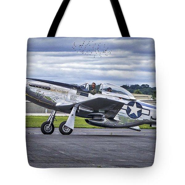 Mustang P51 Tote Bag