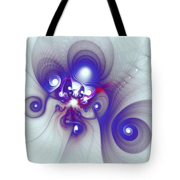 Mutant Octopus Tote Bag by Anastasiya Malakhova