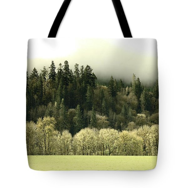 Tote Bag featuring the photograph Muted Hillside Colors by Katie Wing Vigil