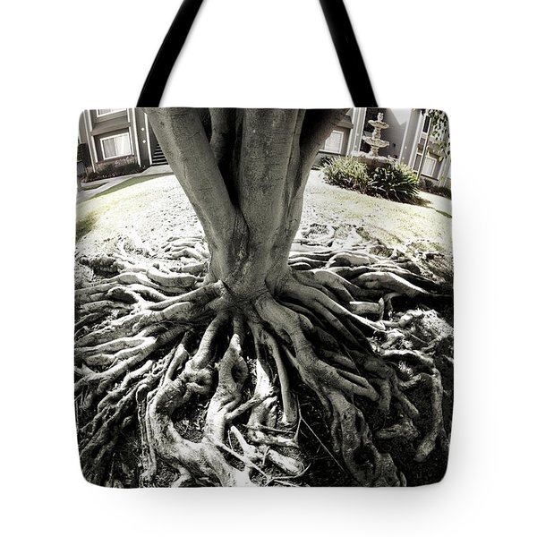 Tote Bag featuring the photograph Muted Roots by Clayton Bruster
