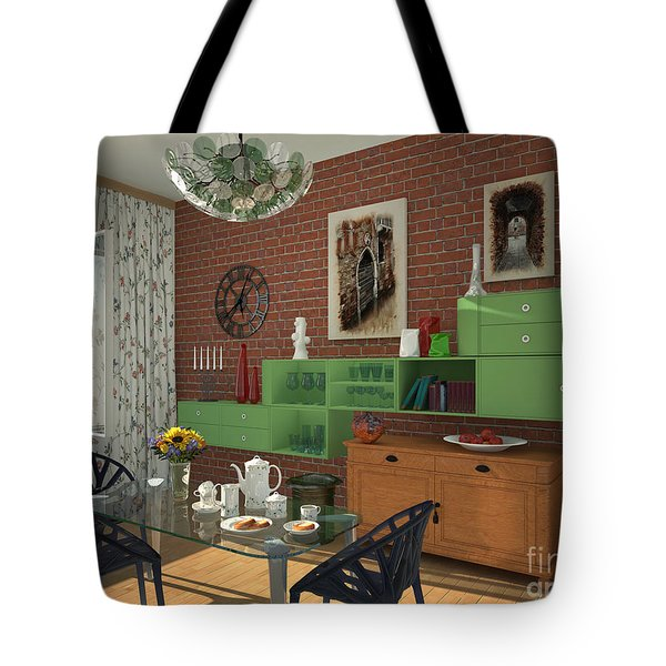 My Art In The Interior Decoration - Elena Yakubovich Tote Bag by Elena Yakubovich