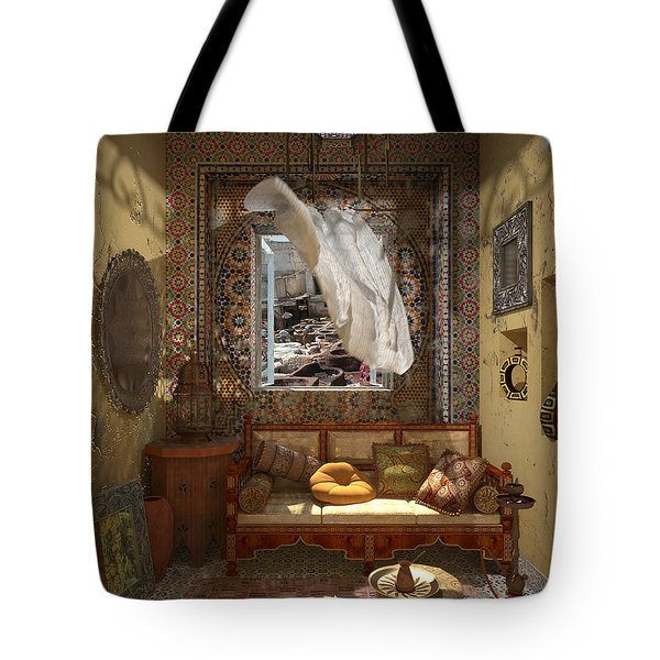 My Art In The Interior Decoration - Morocco - Elena Yakubovich Tote Bag