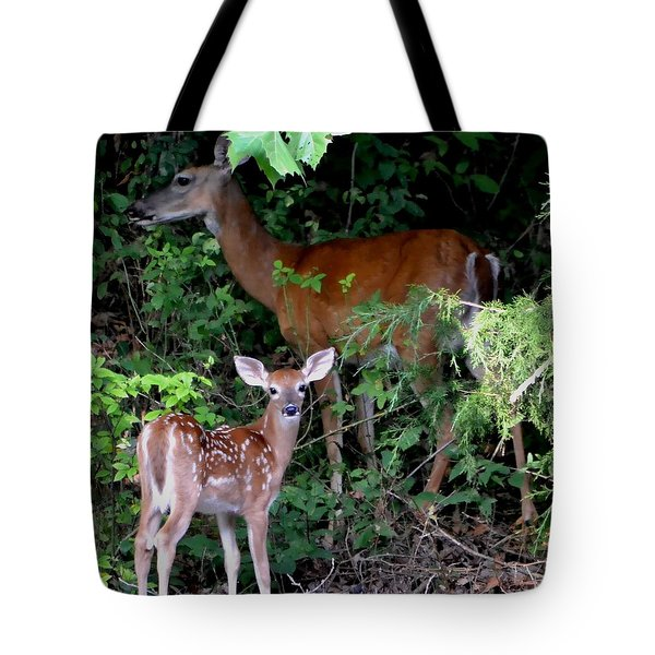 Tote Bag featuring the photograph My Baby by Deena Stoddard