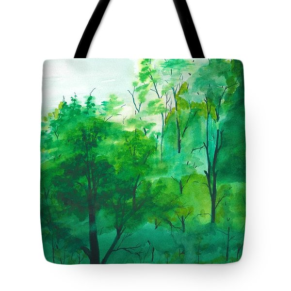My Backyard Tote Bag