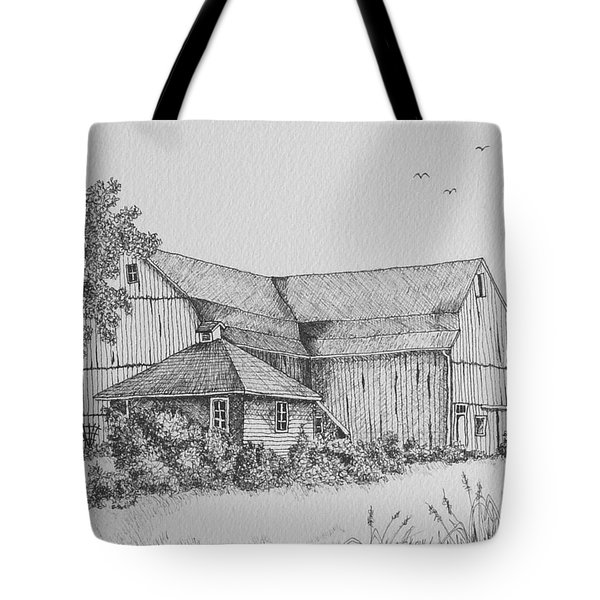 My Barn Tote Bag