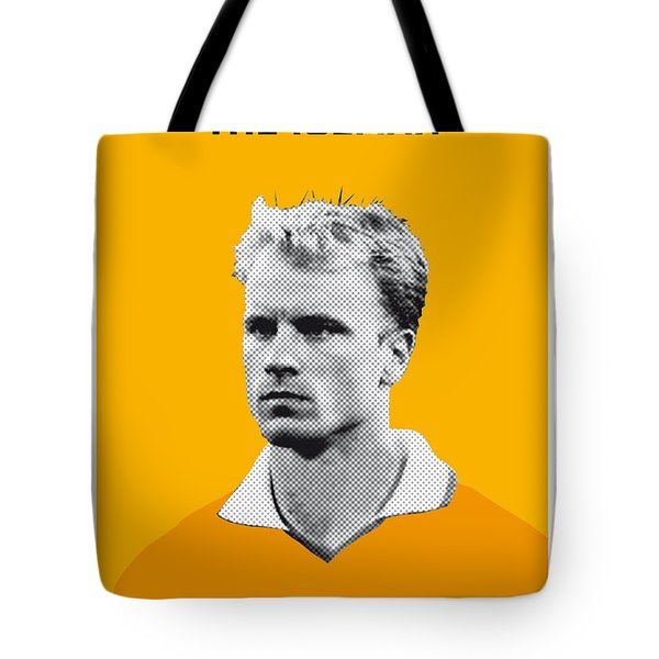 My Bergkamp Soccer Legend Poster Tote Bag by Chungkong Art