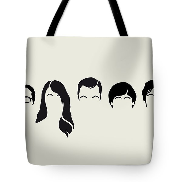 My-big-bang-hair-theory Tote Bag