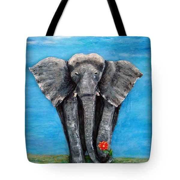 My Big Friend Tote Bag