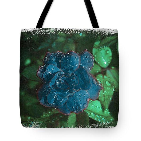 My Blue Rose Tote Bag