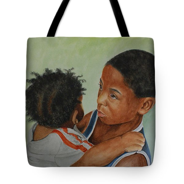 My Brother's Keeper Tote Bag