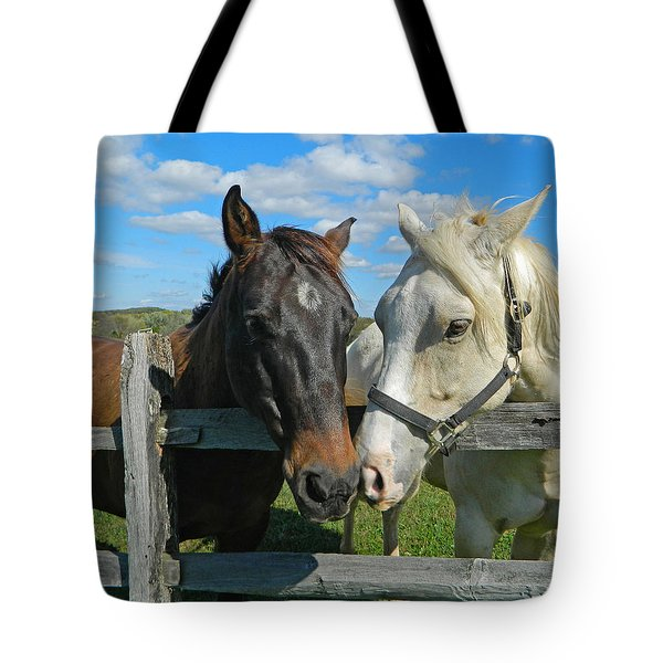 My Buddy Tote Bag by Emmy Marie Vickers